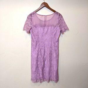 NWT Gianni Bini mauve lace dress